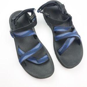 Merrell | Black & Blue Sport Sandals
